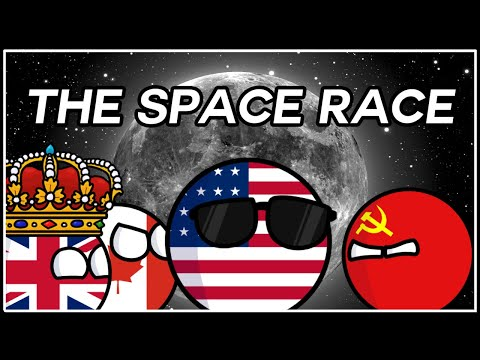 How America Landed On The Moon | The Space Race In Countryballs (ft. Viddy's Vids)