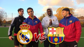 REAL (RONALDO) vs BARCA (MESSI) CHALLENGE | BROTATOS