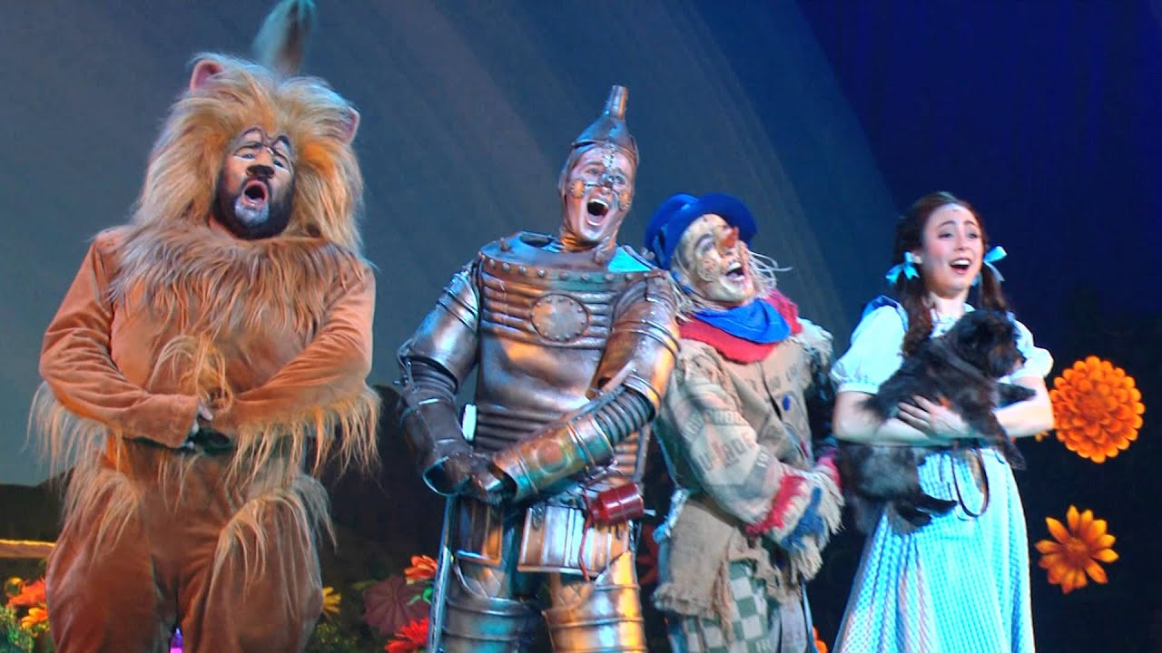 Broadway Across Canada Presents The Wizard Of Oz Youtube