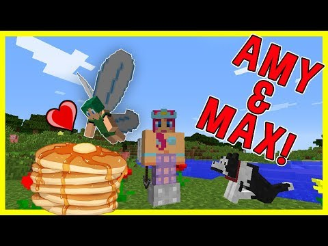 Amy & Max! Ep.8 JINX AND HER PANCAKES!   Minecraft   Amy Lee33