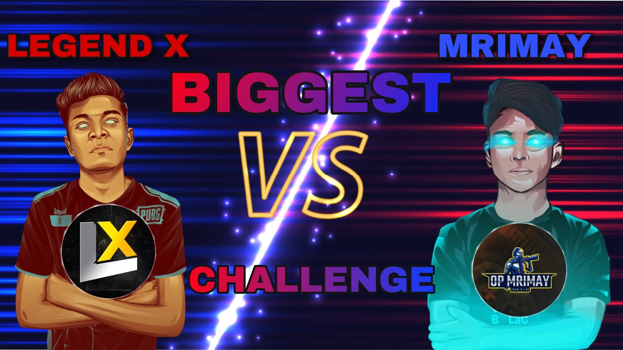 Legend X and me doing no voice challenge with some new rules 1st time ever in this match | OP Mrimay