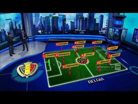 Perebutan Tempat Ketiga: Belgia Vs Inggris Mp3