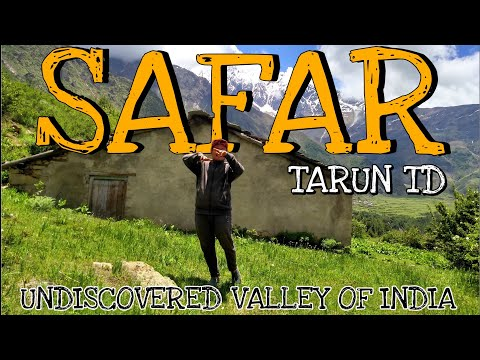 SAFAR - TARUN TD | OFFICIAL MUSIC VIDEO | DARMA VALLEY | Undiscovered valley of india | 2019