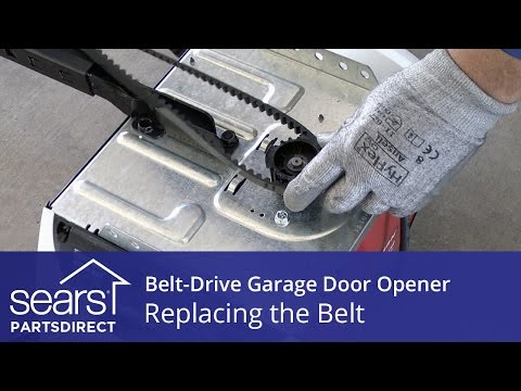 Replacing The Belt On A Belt-Drive Garage Door Opener