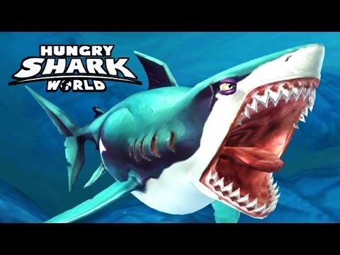 hungry shark белая акула видео