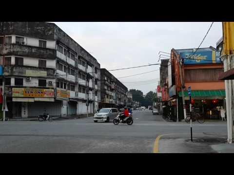 马来西亚 霹雳 金宝 旧街场 高清拍摄    malaysia perak kampar old town