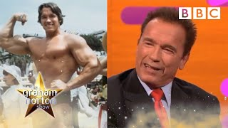 Arnold Schwarzenegger reveals his intense workout routines | The Graham Norton Show - BBC