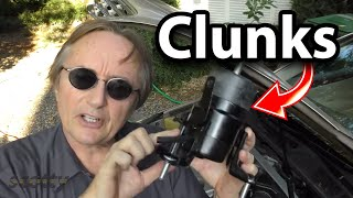 How to Fix Car that Clunks when You Take Off (Motor Mount)