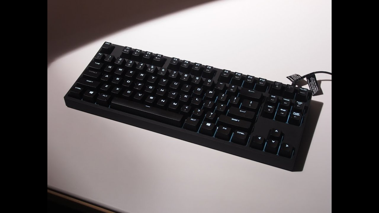 Cooler Master QuickFire Rapid-i keyboard's LED lighting controls