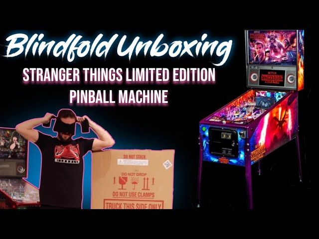 SDTM Ep 106: Unboxing A Pinball Machine Blindfolded: Stranger Things Limited Edition