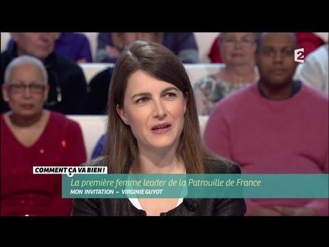 [SOCIÉTÉ] Virginie Guyot, la première femme leader de la Patrouille de France #CCVB