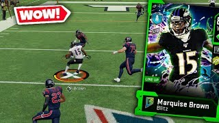 FASTEST PLAYER IN THE GAME! MARQUISE HOLLYWOOD BROWN! MADDEN 20 ULTIMATE TEAM