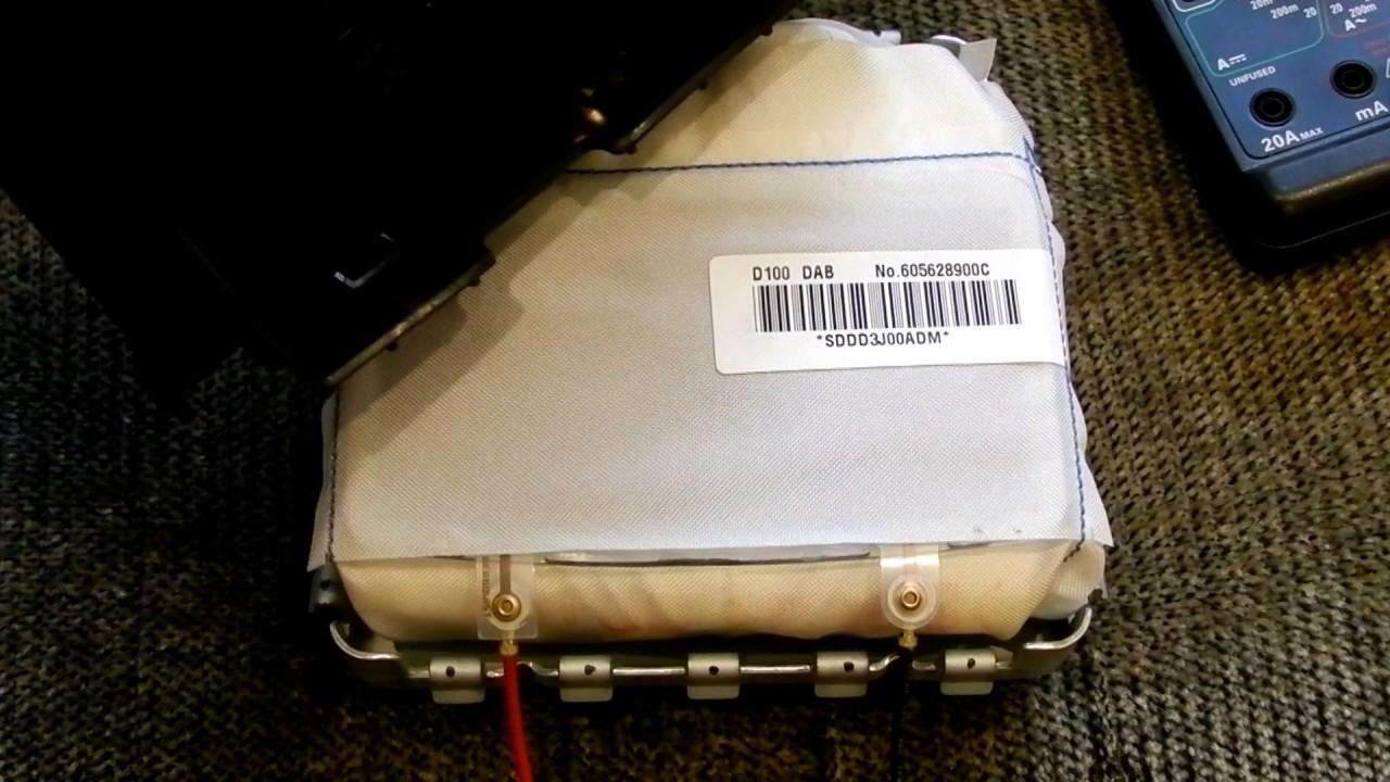 Airbag SSANG YONG KYRON. Контактная пластина звукового сигнала