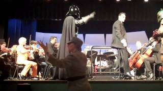 Darth Vader arrest the Maestro and Conducts the Orchestra! thumbnail