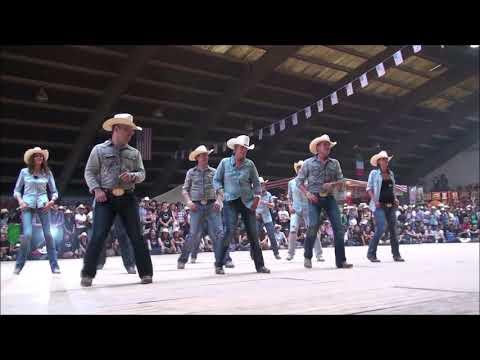 JOHN WAYNE line dance - Wild Country - Voghera 2014
