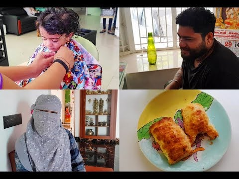 mahi-haircut---sneaky-person-in-home---vegetable-puffs---chocolate-tea---yummy-tummy-vlog