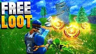 *NEW SECRET* ANARCHY ACRES Treasure Map! - Fortnite Battle Royale FREE Battle Pass Tier!