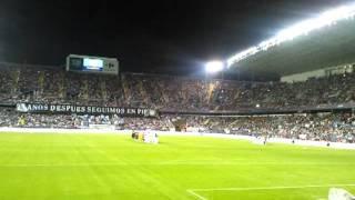 M�laga-Real Madrid. Himno del M�laga