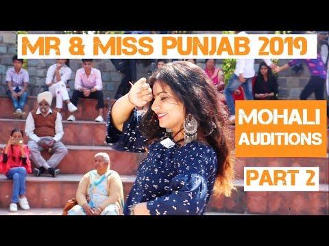 MOHALI AUDITIONS -2    Mr & Miss Punjab 2019    Awaaz-e-Punjab 2    Kamz Kreationz