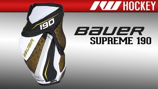 Bauer Supreme 190 Elbow Pad Review