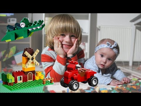 Thumbnail: Thomas and friends Kids GERTIT & GLORIA baby - Spiderman red car in lego creator cars and trucks