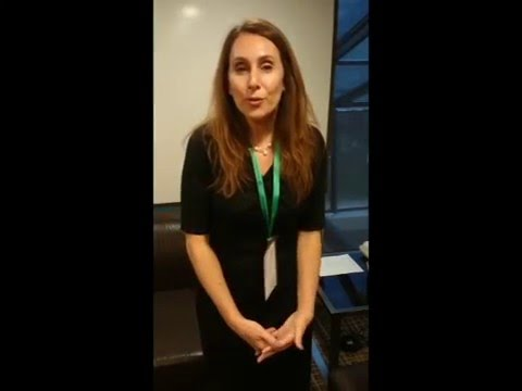 Karen Gordon en la Semana de la Otología 2016