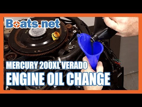 Mercury 200 Oil Change | How to Change the Oil on an Outboard Motor | Boats.net