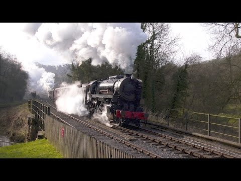 2016 Steam Locomotive Compilation - mainline & preserved railway action in 4K