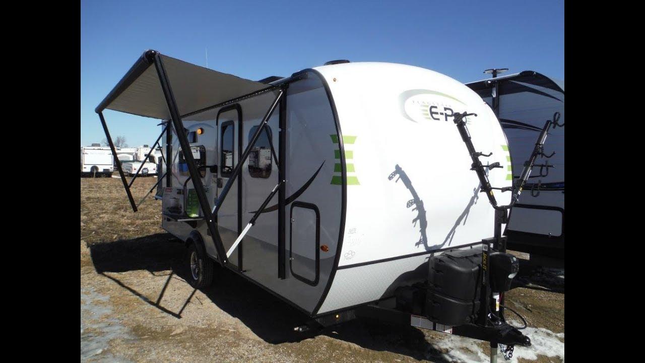 2019 Flagstaff E Pro 17PR Ultra Lite Travel Trailer - Half Hybrid @  Camp-Out RV in Stratford