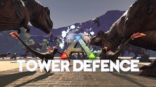 TOWER DEFENCE GAME MODE | ARK SURVIVAL EVOLVED
