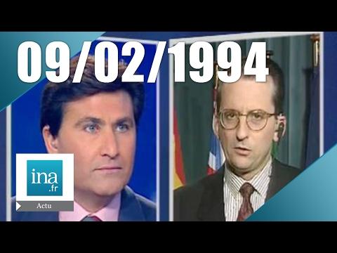 20h France 2 du 9 février 1994 - Guerre en ex-Yougoslavie | Archive INA