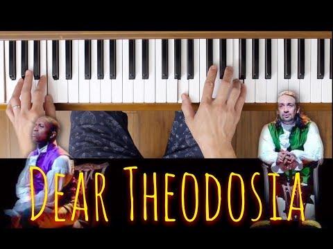 Dear Theodosia (Easy Piano Tutorial) [Hamilton]