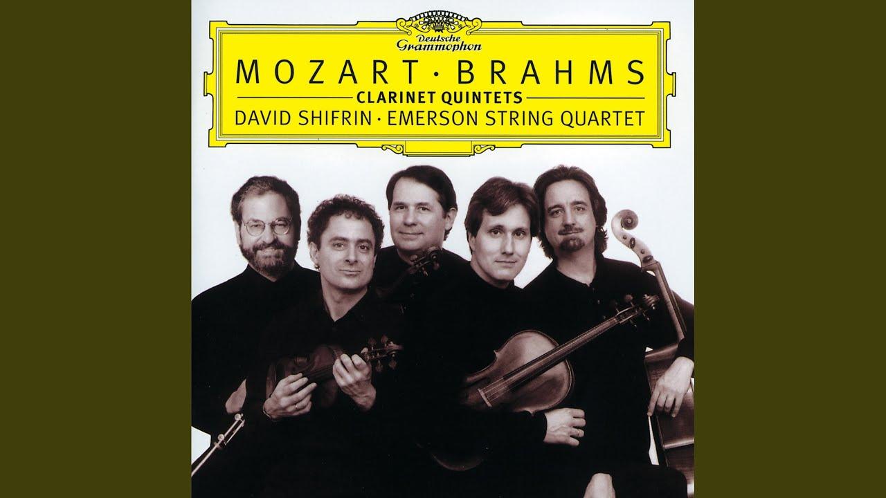 Mozart: Clarinet Quintet In A, K 581-1  Allegro - David Shifrin