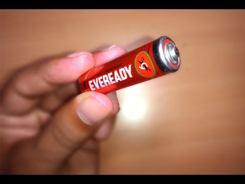 Amazing tricks to Charge a AAA Battery with Laptop Charger - To last few days more