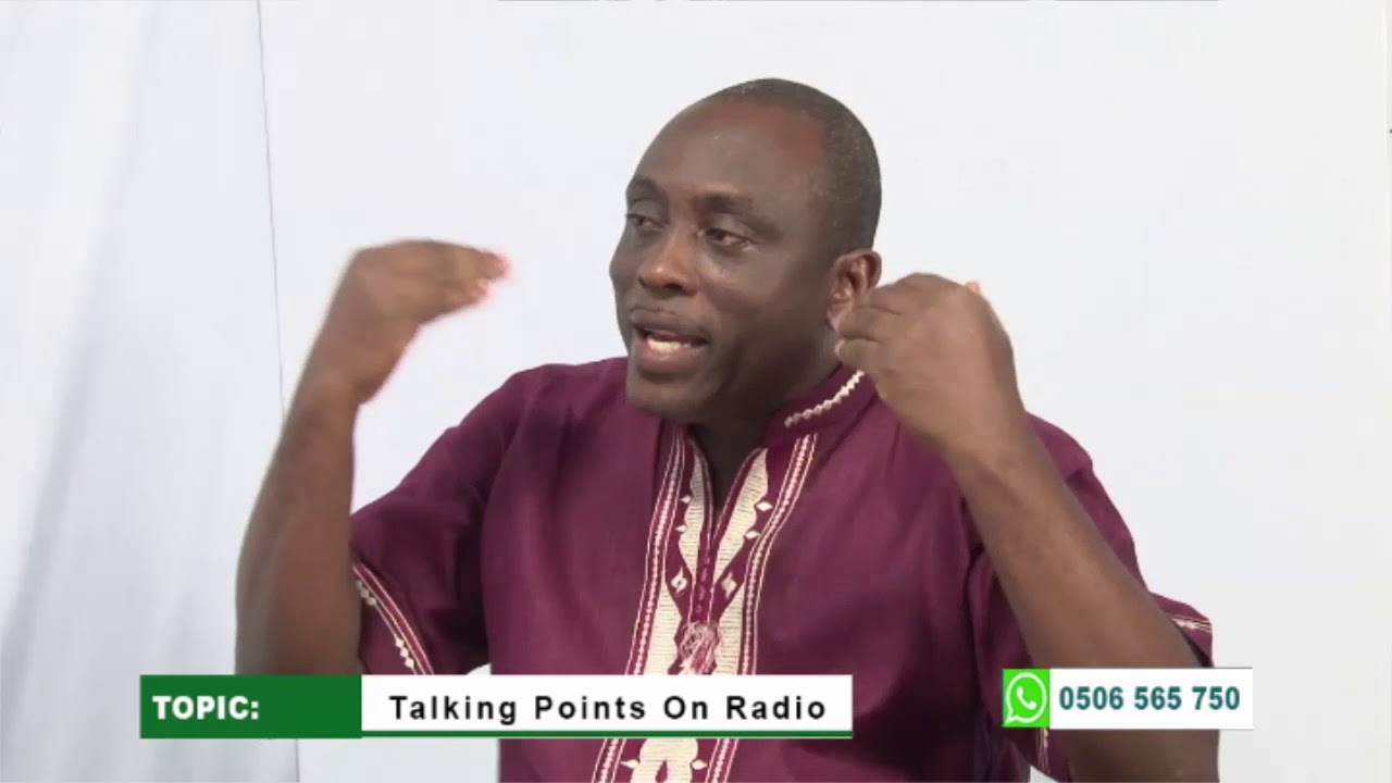Talking point on the radio