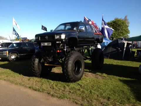 Street Leagle Monster Truck Made With Videoshop Youtube