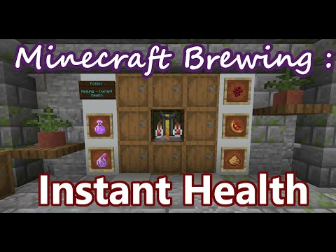 Potion Of Instant Healing (1 & 2) :: Brewing And Potions :: Minecraft Survival Guide