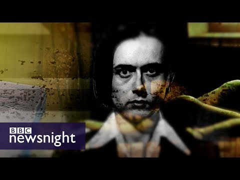 Suede's Brett Anderson on 'Coal Black Mornings' - BBC Newsnight