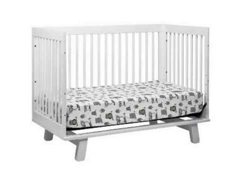 New Babyletto Hudson 3 in 1 Convertible Crib with Toddler Rail, White Best