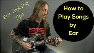 3 Tips to Leąrn How to Play Songs By Ear (Ear Training) - Steve Stine Live Session