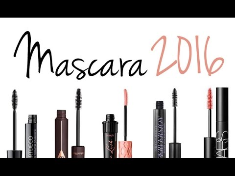 THE BEST MASCARAS 2016!