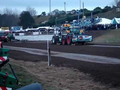 Ford 6610 in tractor pull competion, 2012 Mystery creek