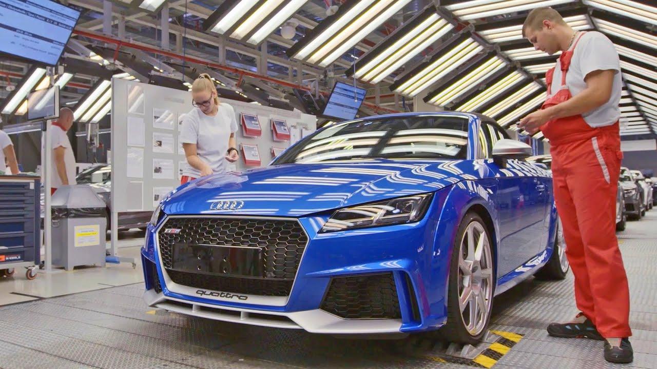 ชมกันเพลินๆ สายการผลิต Audi TT RS ที่มาความแรงเฉียด 400 แรงม้า