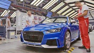 """""""فيديو"""" شاهد عملية إنتاج سيارة """"أودي"""" 2017 Audi TT RS"""