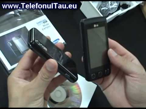 Samsung S5230 review ( in romana )
