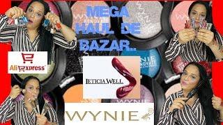 MEGA HAUL DE BAZAR Y ALIEXPRESS!! Makeup,complementos...