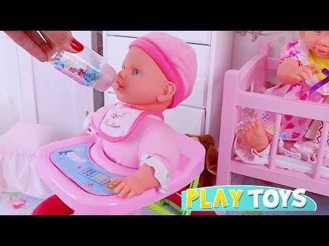 Pretend Play with Baby Dolls and Toys for Kids! 🎀