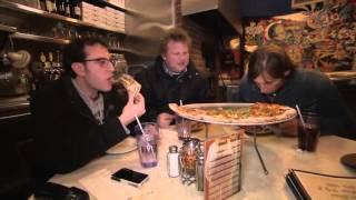 Gambar cover En stark resa Morgan & Ola-Connys pizzaguide