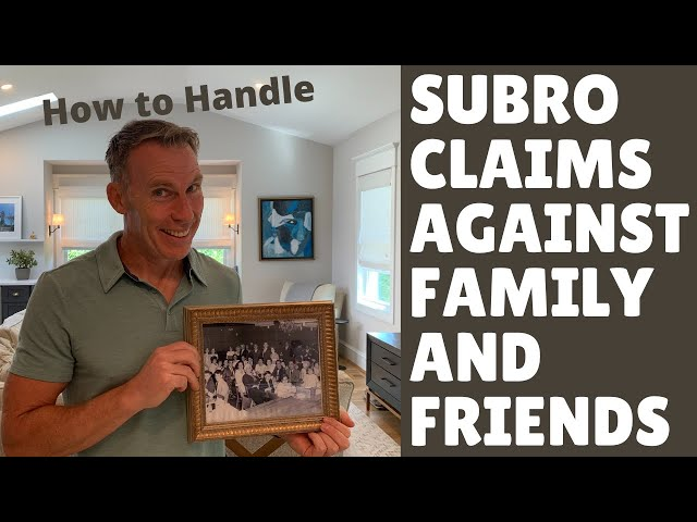Subrogation Claims against Friends and Family: Getting the Insured to name names.