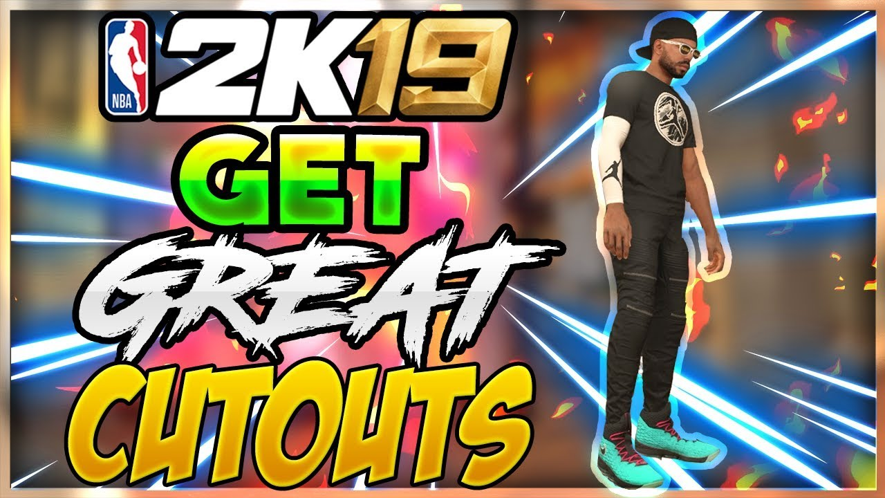BEST WAYS TO GET GOOD PICTURES OF YOUR MYPLAYER FOR HD CUTOUTS! NBA 2K19  Tips